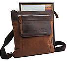 Вертикальная мужская кожаная сумка Always Wild BAG4HB, фото 4