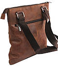 Вертикальная мужская кожаная сумка Always Wild BAG4HB, фото 5
