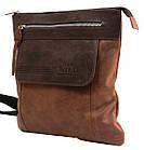 Вертикальная мужская кожаная сумка Always Wild BAG4HB, фото 6