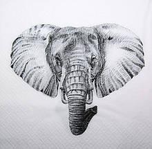 Салфетка для декупажа Слон 7755