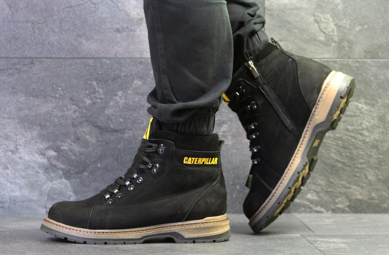 0bd27b28 Мужские зимние ботинки Caterpillar,черные,на меху: продажа, цена в ...