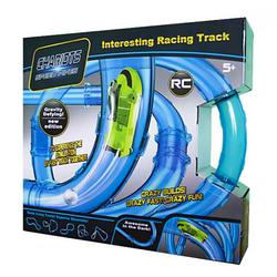 Трубопроводный автотрек Tube Race - Chariots Speed Pipes (27 деталей, 1 машинка+пульт управления+светящийся ша