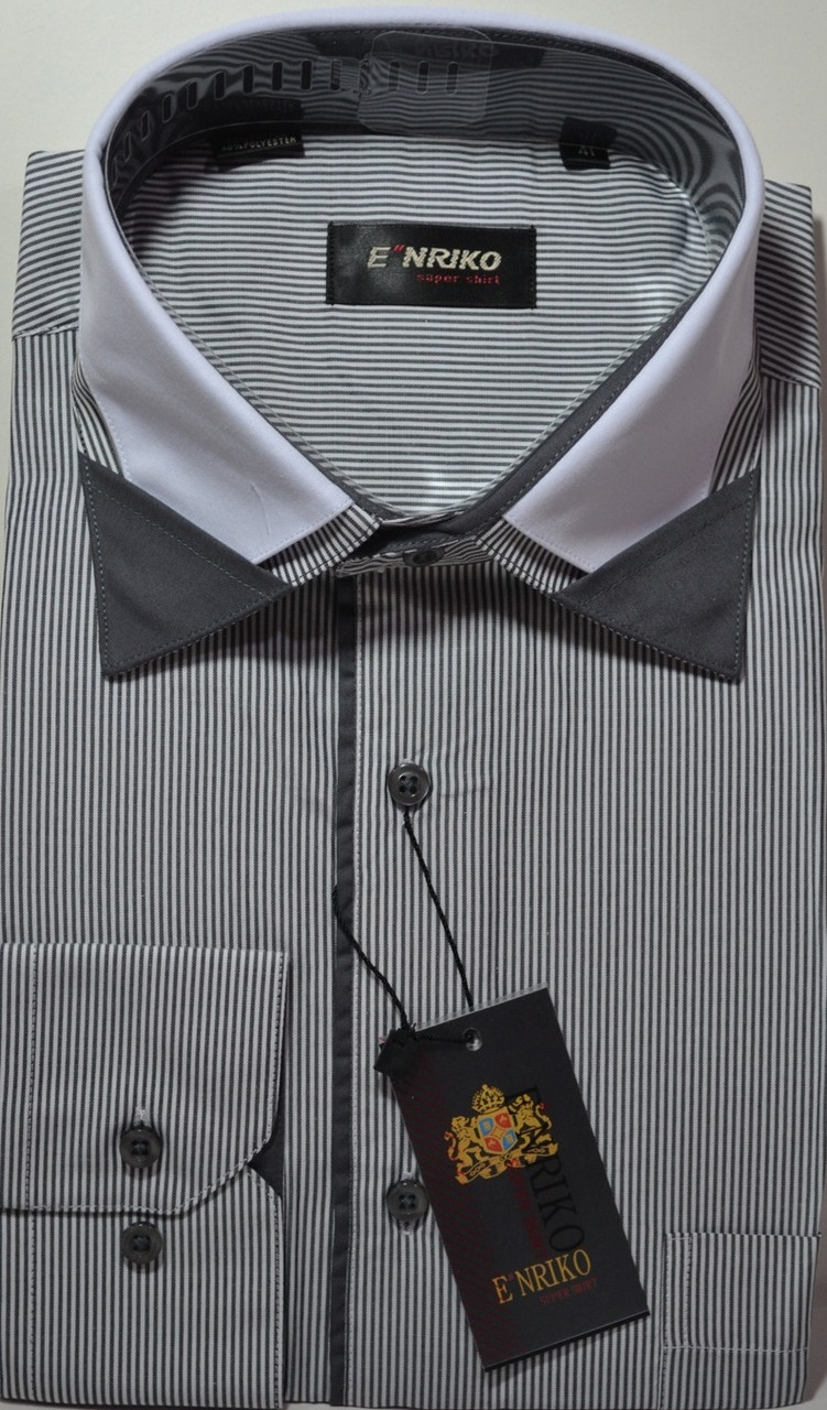 Мужская рубашка ENRICO (размеры 39.40)
