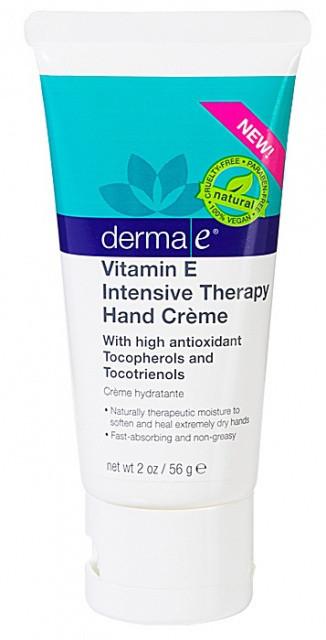 Крем для интенсивной терапии кожи рук с витамином Е *Derma E (США)*
