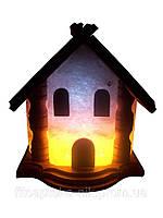 Соляная лампа Домик 5-6 кг.