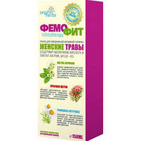 Фемофит пенка (женские травы + молочная кислота) для интимной гигиены pH 3,8-4,5 без мыла 150мл