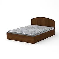 Кровать 140 Компанит Орех экко
