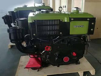 Дизельный двигатель 180N (8 л.с.) ручной запуск, фото 2