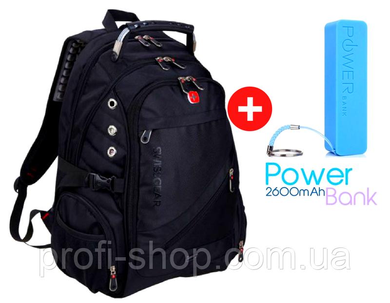 Городской рюкзак Swissgear Men Bag 8810 + дождевик