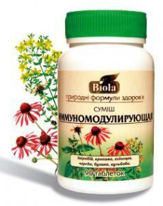 Иммуномодулирующая смесь 90 таблеток Биола ТМ