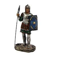Статуэтка воин с копьем и щитом