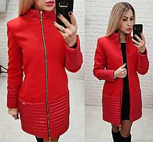 Пальто арт. 137 красный