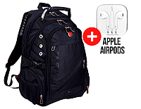Рюкзак городской SwissGear 8810, Швейцарский + дождевик