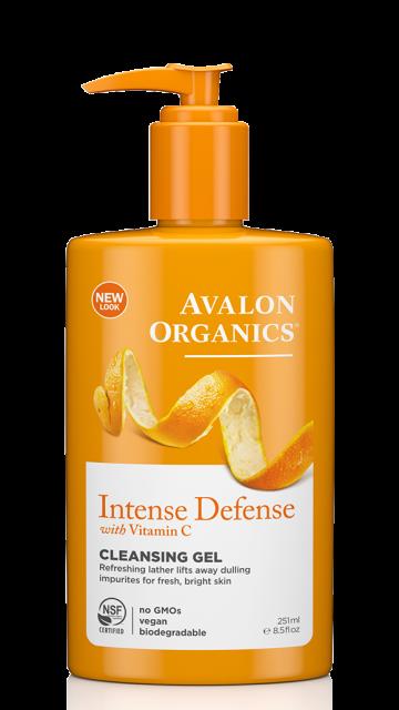 Гель для умывания с витамином С, биофлавоноидами лимона и экстрактом белого чая *Avalon Organics (США)*