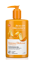 Гель для умывания с витамином С, биофлавоноидами лимона и экстрактом белого чая *Avalon Organics (США)*, фото 1
