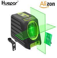 Лазерный уровень с зелёными лучами Huepar Box-1G