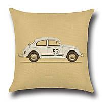 Подушка декоративная машина Herbie 45 х 45 см