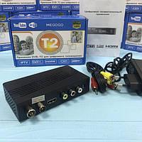 Цифровой ресивер DVB-T2 MEGOGO, YouTobe Тюнер Т2 + HD плеер Цифровая приставка (Цифровой ресивер) с HDMI, фото 1