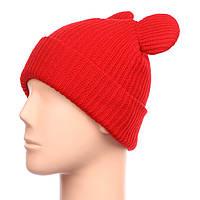 Яркая шапка с ушками СС7910