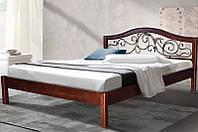 """Кровать  из массива """"Илонна"""" (ольха)"""