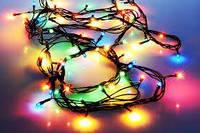 Гирлянда светодиодная 302 LED LIGHT RGB (2-х цветная лампа)