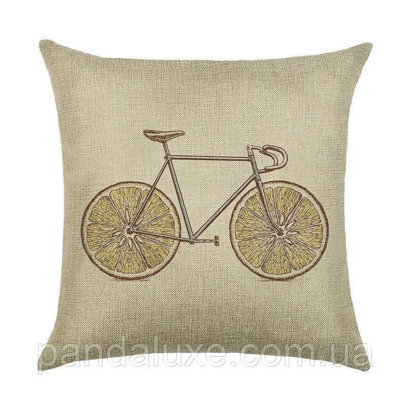 Подушка декоративная для дивана Lemonbike 45 х 45 см