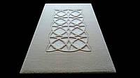 Классический, eleganki ковер с кристаллами в белом - Art Relief