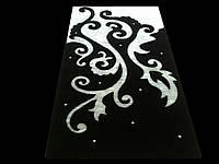 Роскошный ковер 3D со стразами для гостиной