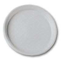 Тарелка  одноразовая пластиковая d=205 мм