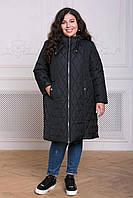 Donna-M Пальто из стеганой ткани МЕЙЛИ черное , фото 1
