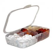 Таблетница на 5 отделений пластик Buchsteiner®, Германия