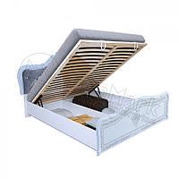 Кровать Луиза Люкс 180х200 с подъемником и каркасом Миро-Марк