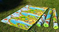 Детский игровой развивающий коврик VMSport Мадагаскар 120x200см (k-0001)