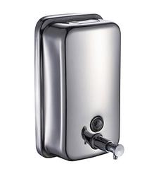 Дозатор жидкого мыла 500мл, Антивандальный 1601C, глянцевый.