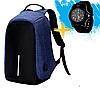 Рюкзак-антивор с USB портом Bobby Backpack Черный, Black., фото 2