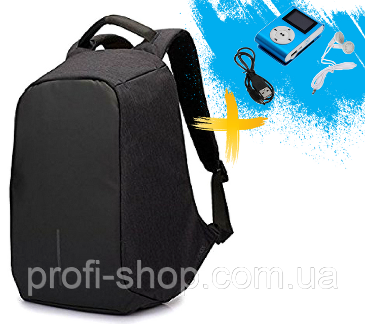 Городской рюкзак антивор Bobby Backpack от XD Design Черный, Black.