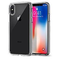 Чехол Spigen для iPhone X Ultra Hybrid, Space Crystal (057CS22131), фото 1