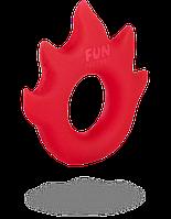 Эрекционное кольцо Fun Factory Flame Red (51303)