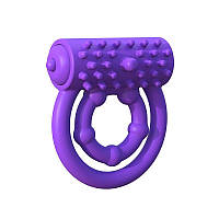 Эрекционные кольца Pipedream Vibrating Prolong Performance Фиолетовые