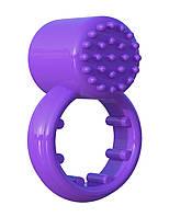 Эрекционное виброкольцо Pipedream Sensual Touch Love Фиолетовое