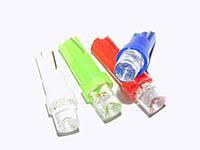Автомобильная светодиодная лампа для панели приборов 1,2w T5-1LED-вогнутая-12V (производство Китай)
