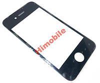 Стекло сенсора для Apple iPhone 4 / 4G / 4S / 4GS черное