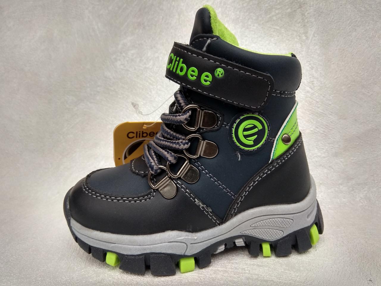 3fbddc1c9b9cb5 Зимние ботинки для мальчиков Clibee оптом (р.21-26): продажа, цена в ...
