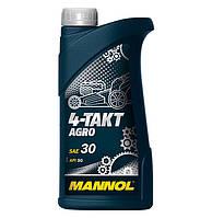 Моторное масло Mannol 4-Takt Agro SAE 30 API SG (1L)