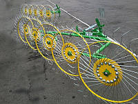 Bomet (Польша)Грабли ворошилки,Солнышко на 5 колес