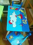 Набор детской мебели E03-2100 (детский столик и стульчики), дерево. КИЕВ, фото 3