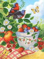 Схема для вышивки бисером Летние фрукты  РКП-300