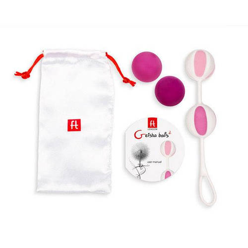Вагинальные шарики Fun Toys - Geisha Balls 2 Pink