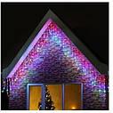 Гирлянда светодиодная LTL Sople занавес 300 led длина 9.6 метра разноцветная RGB + переходник, фото 2