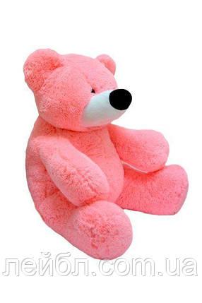 Великий рожевий плюшевий ведмідь Бублик 180см., фото 2